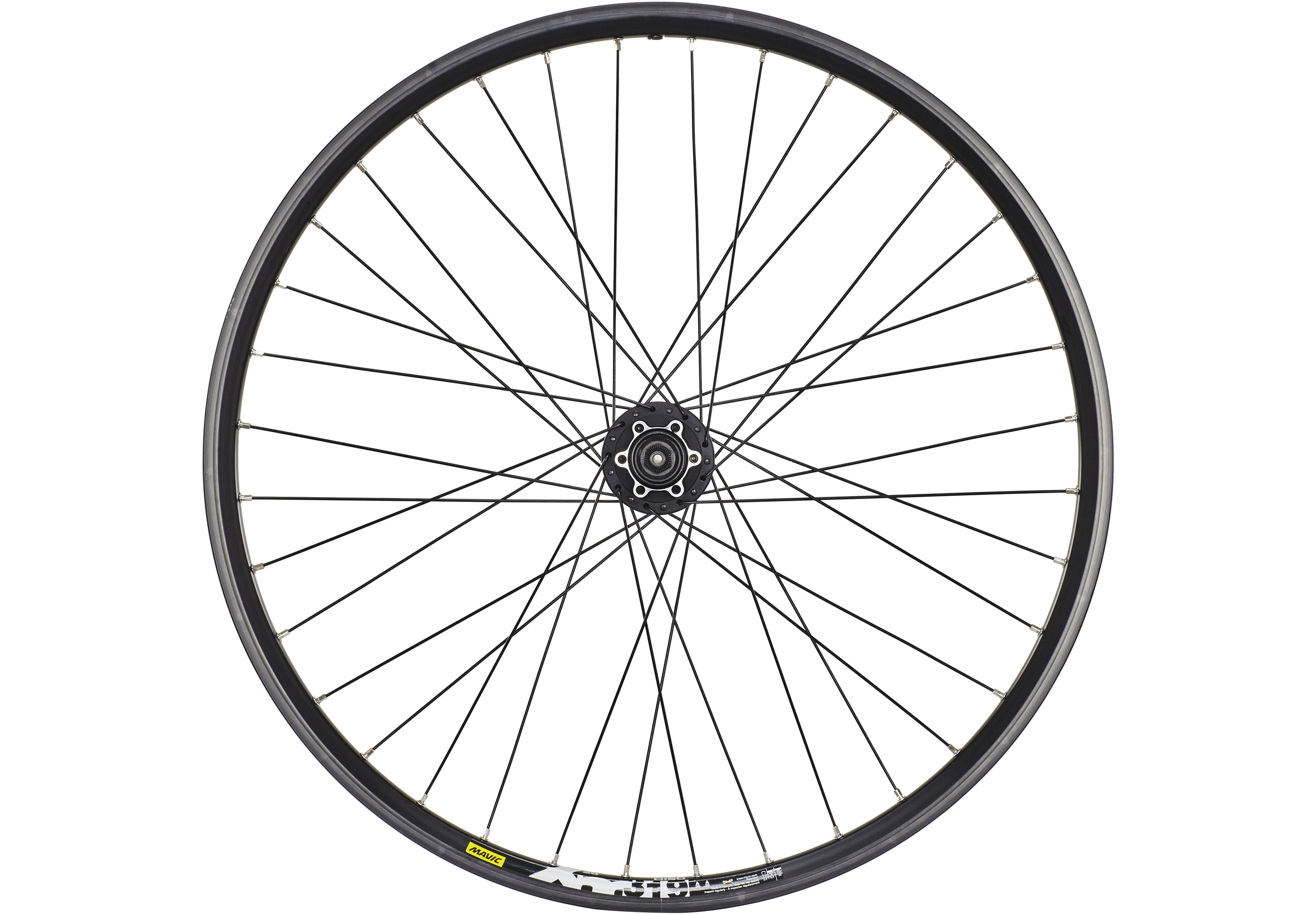 fa54c6714f7 Mavic XM 319 Rear Wheel 26x1.90 Deore Disc 8/9s black at Bikester.co.uk
